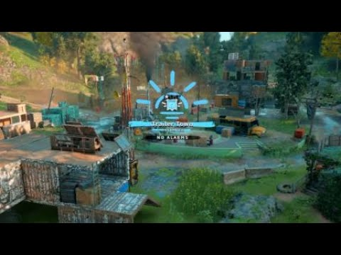 Far Cry New Dawn Trailer Town Out Post  easy Capture