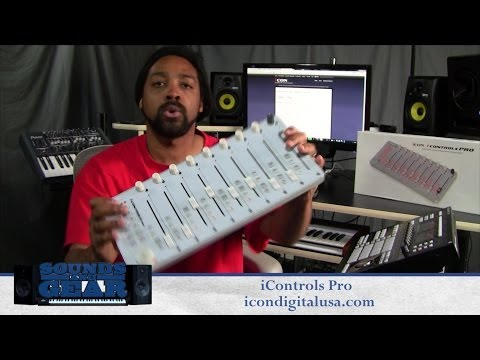 Icon Digital iControls PRO Motorized Fader DAW Controller review - SoundsAndGear.com