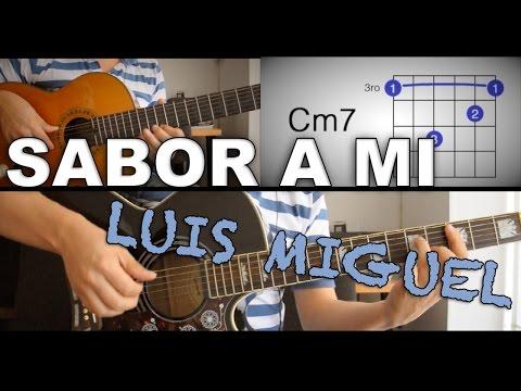 Cover sabor a mi lyrics and guitar chords