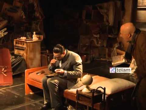 """""""El Cuidador"""", la obra de Harold Pinter, es dirigida por Agustín Alezzo en El Camarín de las Musas"""