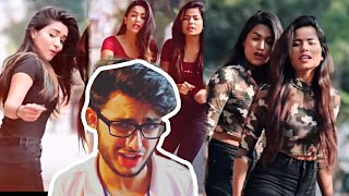 Carryminati Roasting Gima Ashi  | Bhot Hard Tiktok girls