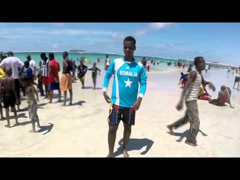 FRIDAY FUN AT LIDO BEACH MOGADISHU SOMALIA