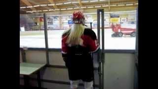14 Year old girl ice hockey player (Iceland)