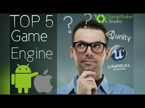 Top 5 Game Engines For Android And IOS ! [HD] Game Making Softwares