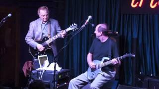 Adrian Belew and Tony Levin w Les Paul Trio At iridium (9 / 26 / 11)