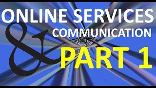 What is an Online Service? Part One