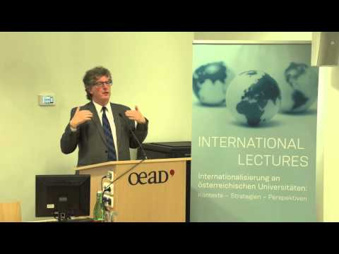 Lecture: Challenges and Opportunities for Internationalising Higher Ed in Europe, De Wit (SoSe 2014)