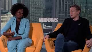 Viola Davis & Liam Neeson Interview - Widows