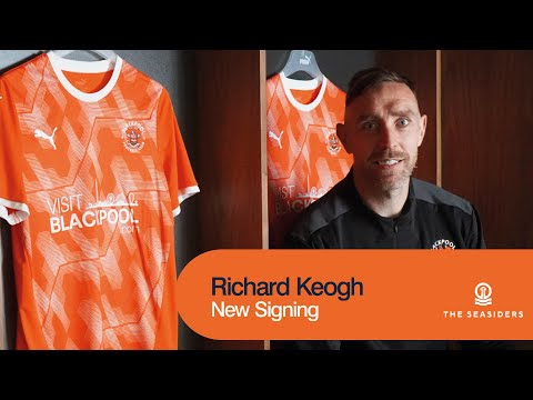 """""""This is the right place for me.""""   Richard Keogh   New Signing"""