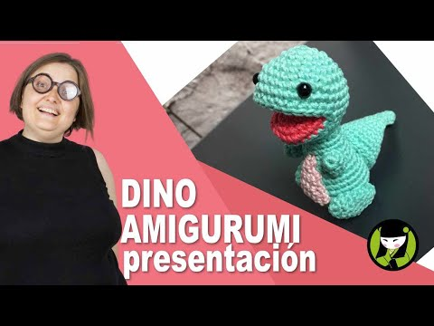 DINOSAURIO AMIGURUMI presentacion