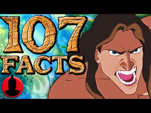107 Tarzan Facts - (ToonedUp #168) | ChannelFrederator