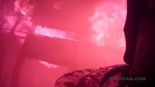 2 Deck Gun House Fire with Interior Attack
