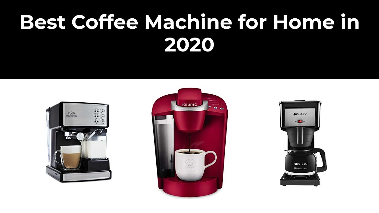 Best Coffee Machine for Home in 2020 - YouTube