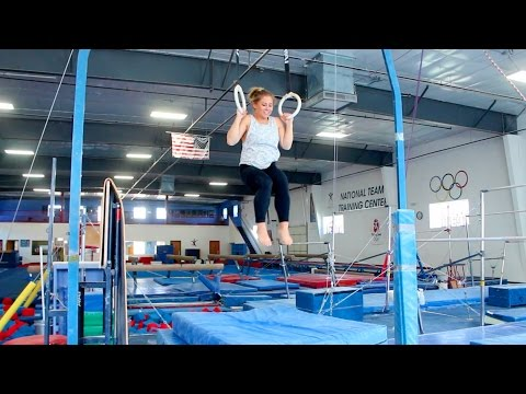 FUN AT THE GYM WITH SHAWN JOHNSON!