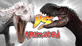 Indominus Rex VS Vastatosaurus Rex [Who Would Win?]