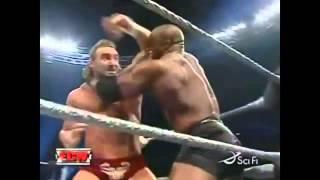 Bobby Lashley vs Chris Masters (ECW 2007)