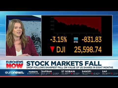 #EuronewsNow  Global stock markets fall