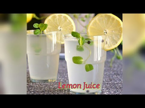 Fresh Lemon Juice l Nimmakaya Juice l Nimma Rasam l Summer Special Juice Preparation in Telugu
