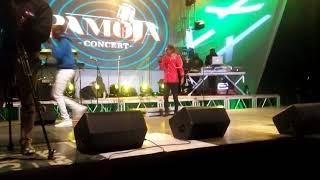 Pamoja concert Eldoret Victor Kigen performing with Eric Omondi