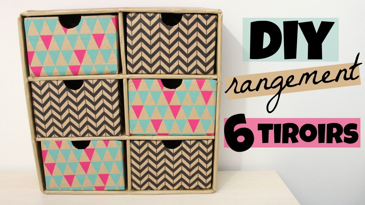 diy rangement bureau tiroir youtube. Black Bedroom Furniture Sets. Home Design Ideas
