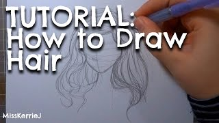 TUTORIAL: How to Draw Hair