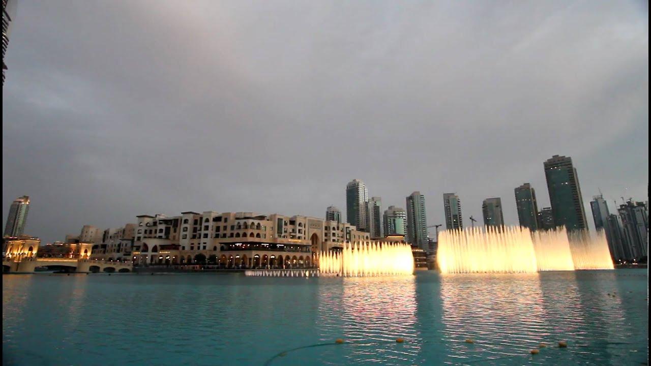 New Burj Khalifa Dubai Lake Fountain Mon Amour Song Name Youtube
