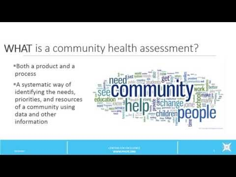 Community Health Assessments Overview