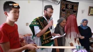 Kazak Gelininin Üstüne Kırmızı Örtü Örtme Gelenegi - Kazak Düğünü - Niğde - TRT Avaz