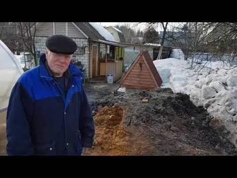 Выкопали колодец на 6 колец,тяжелый грунт,раменский район снт хуторок