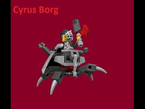 ninjago rebooted cyrus borg youtube