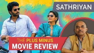 Sathriyan | Plus Minus Movie Review | Baradwaj Rangan
