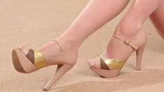 044 Legs In High Heels And Stockings Ноги на высоких каблуках и в чулках