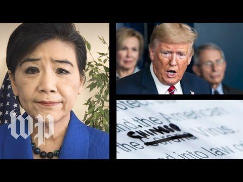Rep. Judy Chu responds to Trump's repeated 'Chinese virus' rhetoric