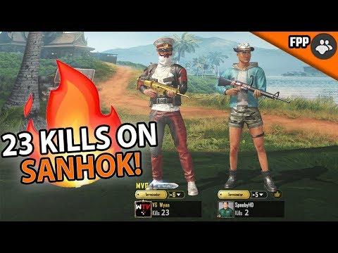 TORCHING SANHOK! Duos With Spooby GOT WILD in PUBG Mobile