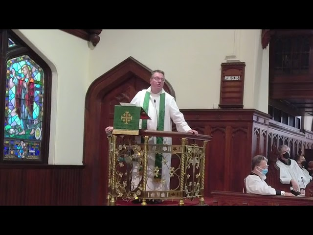 The Twelfth Sunday after Pentecost August 15, 2021