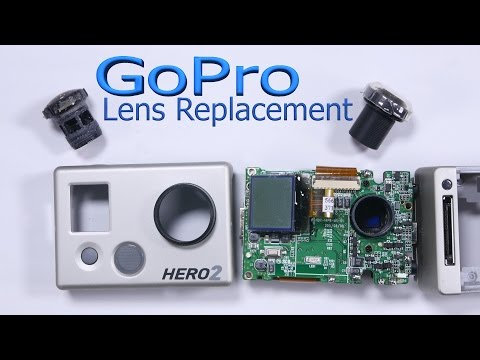 GoPro Camera Lens Replacement - How to fix cracked Lens