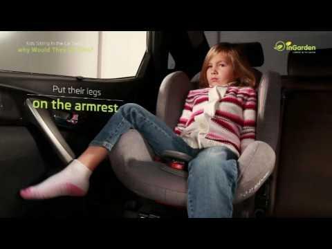 Car Seat Footrest KneeGuardKids3 Intro