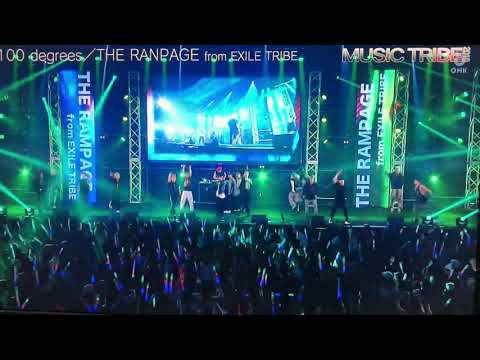 MUSIC TRIBE 2018 THE RAMPAGE from EXILE TRIBE �egrees」