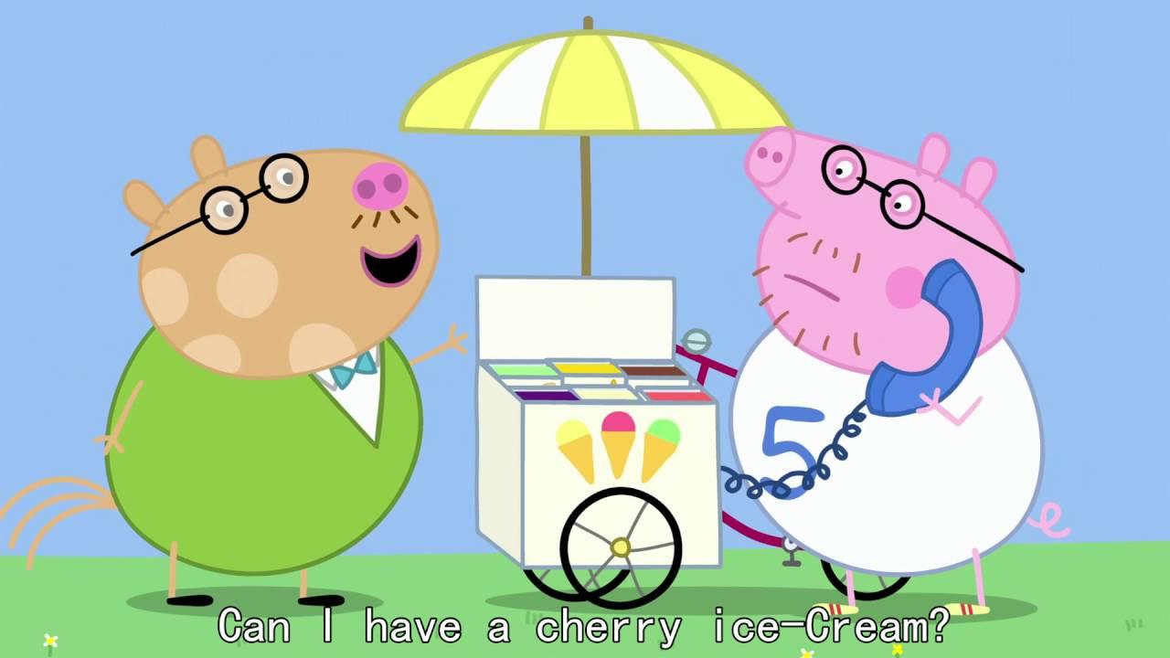 Peppa Pig - Miss Rabbit's Day Off (37 episode / 3 season) [HD]
