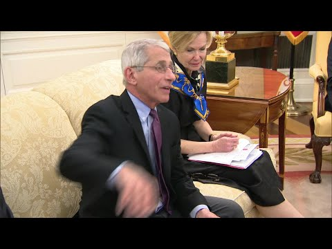 GILEAD TESTS: Dr. Fauci On Promising Results To Gilead COVID-19 Drug Test