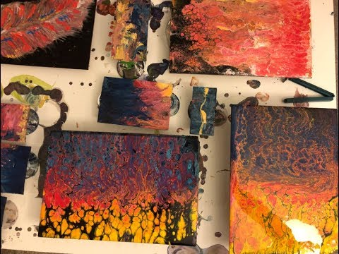 🎥  70 Acres Studio Sunday Live Stream - Acrylic Pouring - Abstract Painting