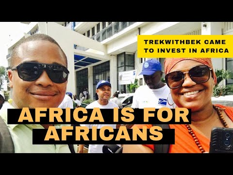BLACK AMERICAN WOMAN INVESTS IN WEST AFRICA #AfricaIsForAfricans