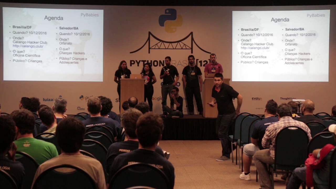 Image from lightning talk - PyBabies