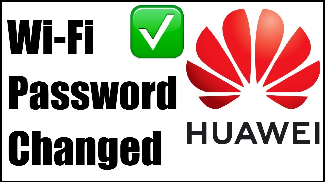 How To Change WiFi Password Of Any Huawei Router / Modem