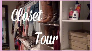 Updated: Closet Tour {part 1}
