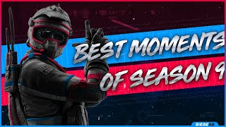 Best Moments of Pro League Season 9 | Rainbow Six: Siege