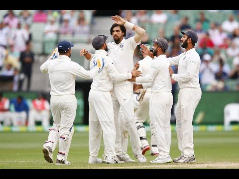 Watch: India just two wickets away from a historic victory at MCG