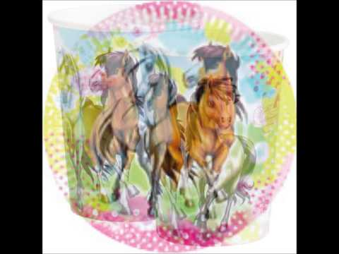 Charming Horses Themed Party Supplies