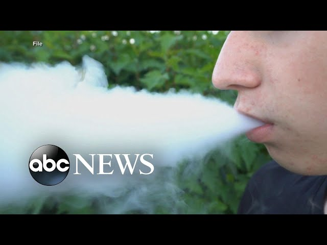 New death linked to use of e-cigarettes l ABC News