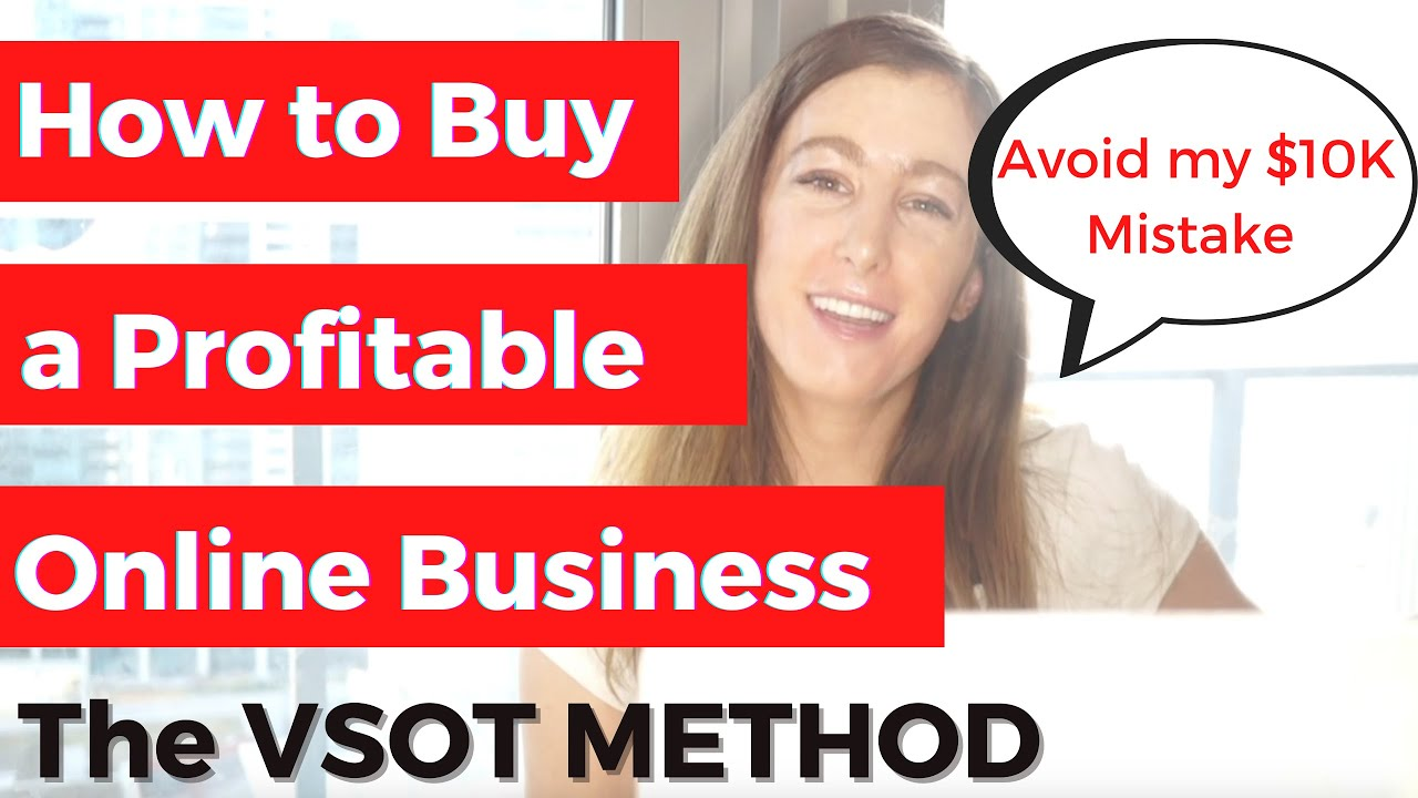 How to buy Online Businesses (that are actually profitable) - The Value Investing VSOT Method
